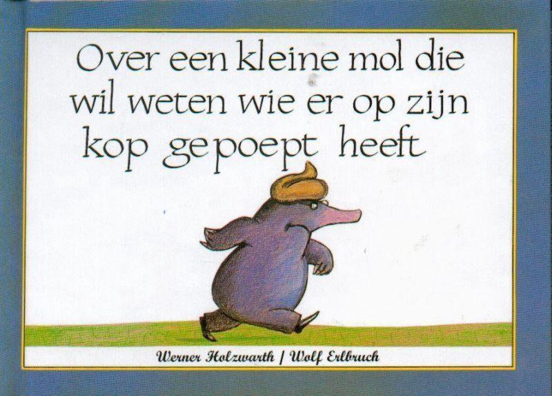 Kinderboekenweek over een kleine mol cover