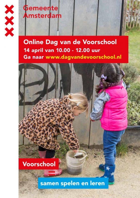 Poster dag van de voorschool